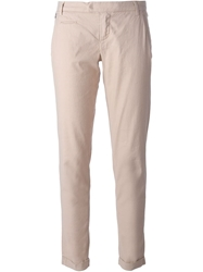 Jacob Cohen Slim Fit Cropped Trousers