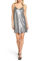One Clothing Women's Sequin Shift Dress
