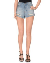 Glamorous Denim Denim Shorts Women Blue