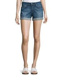 Ag Adriano Goldschmied The Hailey Raw Hem Shorts 10 Years Day Off Women's Size 26