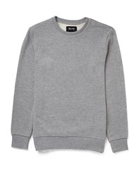 Only And Sons Pique Crew Neck Jumper Grey