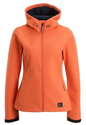 O'neill Solo Soft Shell Jacket Burnt Sienna Coral