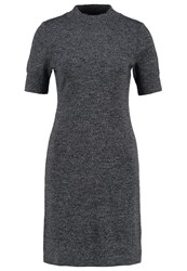 Gap Jumper Dress Charcoal Heather Grey