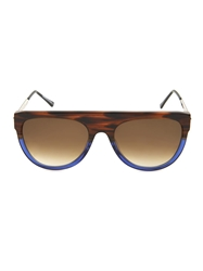 Thierry Lasry Vandaly Flat Top Oval Framed Sunglasses