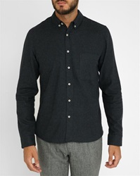 American Vintage Charcoal Flannel Shirt