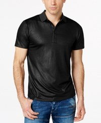 Guess Mason Shine Polo Jet Black