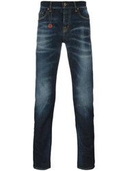 7 For All Mankind 'Chat The Slim' Jeans Blue