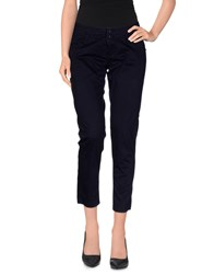 Guess Jeans Trousers 3 4 Length Trousers Women Dark Blue
