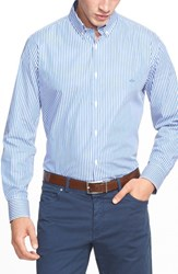 Men's Paul And Shark Regular Fit Stripe Sport Shirt