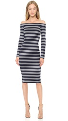 Bec And Bridge Ahoy Long Sleeve Dress Ink