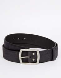Superdry Belt With Gift Box Black