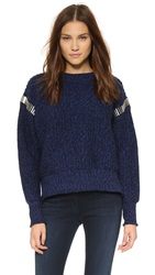 House Of Holland Bullet Sweater Navy