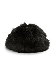 Parkhurst Faux Fur Hat Black