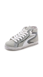 Studio Pollini High Top Sneakers White