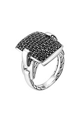 John Hardy Women's 'Classic Chain' Rectangular Ring