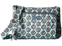 Vera Bradley Little Hipster Nomadic Blossoms Cross Body Handbags Green