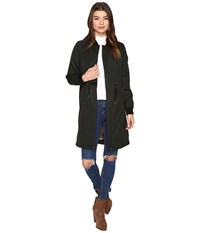 Only Ella Long Bomber Jacket Jet Set Women's Coat Black