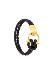 Nialaya Jewelry Hook Closure Bracelet Black