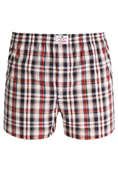 Tom Tailor Boxer Shorts Mood Indigo Red