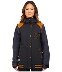 Dcla Special Edition J Snow Jacket Anthracite Women's Coat Pewter
