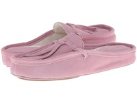 Patricia Green Greenwich Pink Suede Women's Slippers