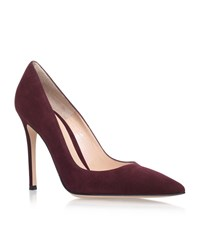 Gianvito Rossi Bari Court Shoes Female Wine