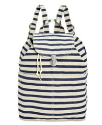 Baggu Canvas Backpack Sailor Stripe
