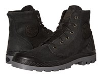 Palladium Pampa Hi Suede Ul Black Steeple Gray Men's Lace Up Boots