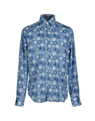 Guess By Marciano Shirts Azure