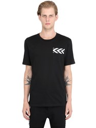Mrkt Cotton Jersey Pocket T Shirt