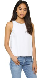 Generation Love Tavi Denim Sleeveless Top Bleached Blue