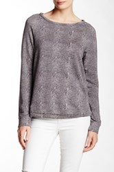 Soft Joie Annora B Long Sleeve Tee Gray