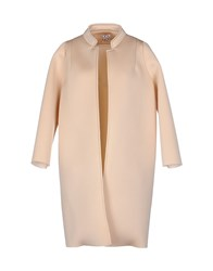 Douuod Coats And Jackets Full Length Jackets Women Light Pink