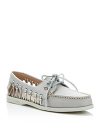 Sperry Authentic Original Haven Boat Shoes Light Pastel Grey