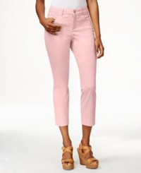 Charter Club Bristol Slim Denim Capri Pink Cloud
