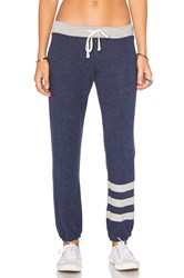 Sundry Stripes Sweatpants Navy