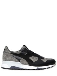 Diadora Trident 90 Knit Effect Nylon Sneakers