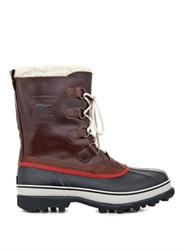 Sorel Cariboutm Leather And Rubber Boots
