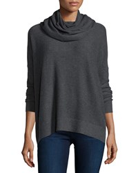 Joie Long Sleeve Cowl Neck Pullover Sweater Dark Heath