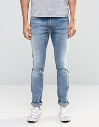 Nudie Jeans Thin Finn Slim Clear Contrast Clear Contrast Blue