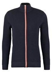 Kronstadt Erik Cardigan Navy Orange Dark Blue