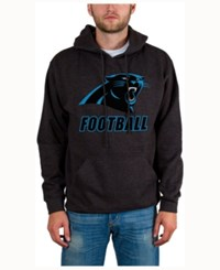 Junk Food Men's Carolina Panthers Wing T Formation Hoodie Heather Charcoal