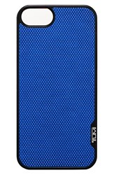 Tumi 'Prism' Leather Iphone 5 And 5S Case Blue Atlantic