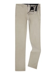 7 For All Mankind Slimmy Luxe Performance Sateen Chino Trousers Beige