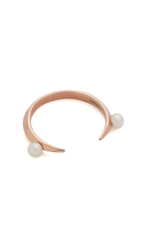 Katie Rowland Desi Mini Ring Rose Gold Pearl