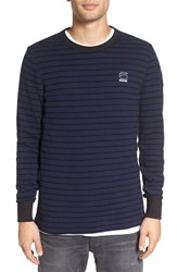 G Star Men's Raw 'Classic Bounded' Stripe Sweater