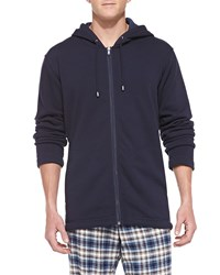 Ugg Bownes Jersey Hooded Sweatshirt Navy