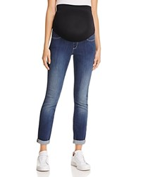 Nydj Annabelle Cropped Skinny Maternity Jeans Big Sur