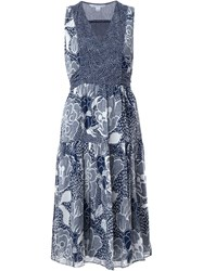 Diane Von Furstenberg 'Vanya' Dress Blue