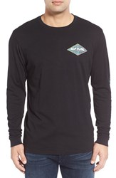 Rip Curl Men's 'Retro Mama' Long Sleeve Graphic T Shirt Black